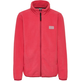 LEGO wear Sam 207 Fleece Cardigan Kids coral red